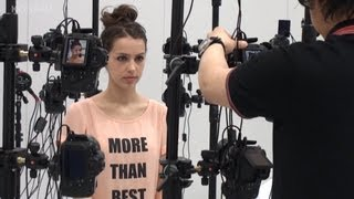 [MGSV] Character making - Stefanie Joosten as Quiet (3D Scan and Motion Capture)