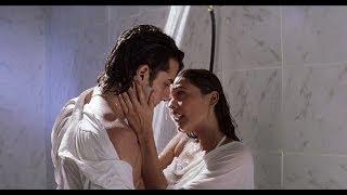 Saif & Namrata Shirodkar Under Shower | Kachche Dhaage Movie Scene