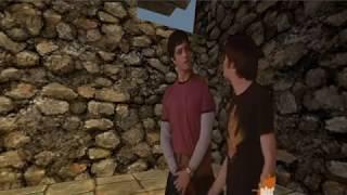 Drake and Josh Trapped in Gerudo Valley Prison.