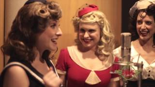 "The Swing Dolls sing The Andrews Sisters' ""Boogie Woogie Bugle Boy"" with the Ten West Orchestra"