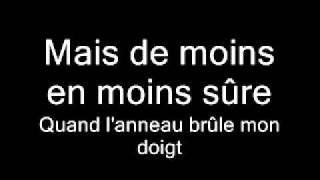 Amel Bent - Je reste (Lyrics)