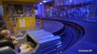 [4K] Rock n Roller Coaster Front Row POV - High Speed Indoor Coaster - Disney's Hollywood Studios