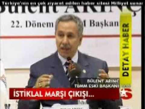Bülent Arınç İstiklal Marşı KALDIRILSIN 12 Eylül dayatması dedi. AKP Vekil Adayları: Bursa