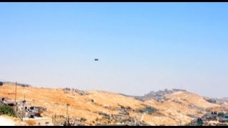 UFO Sightings Incredibly Quick UFO Caught In Jerusalem Broad Day Light Sighting!