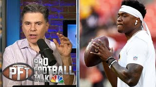 Is it time for Redskins to start Dwayne Haskins? | Pro Football Talk | NBC Sports