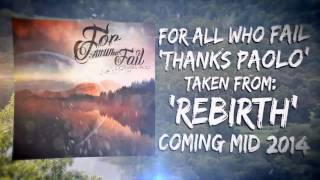 "For All Who Fail - ""Thanks Paolo"" Afflicted Records - Official Lyric Video"