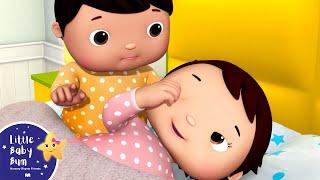 Ten Babies in The Bed V4 | Ten in The Bed | Nursery Rhymes & Kids Songs | Little Baby Bum