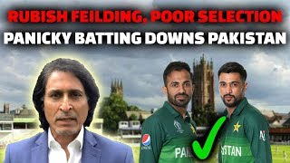 Rubbish Fielding, Poor Selection, Panicky Batting Downs Pakistan
