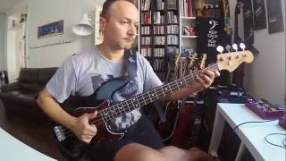 Red Hot Chili Peppers - Dark Necessities - Flea Bass Cover