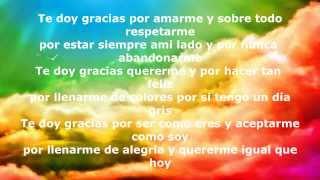 Gracias Amor - Cancion de Rap romantico
