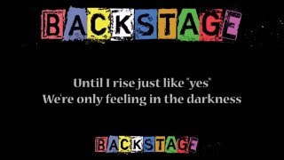 Spark - Backstage Cast (Theme song lyrics)