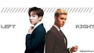 Jungkook & Justin Bieber - 2U (Split Headset) Teaser *USE HEADPHONES*