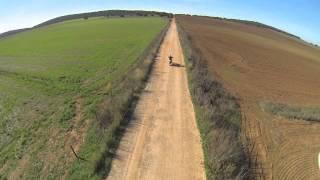 Suzuki DR with Drone (Moura, Portugal)