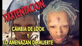 XXXTentacion: Revela el motivo de su nuevo look y por que su amenaza de muerte