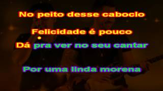 Jorge e Mateus - Morena Proibida - Karaoke