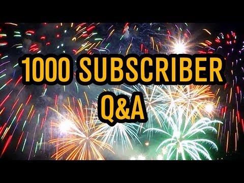 BadEmpanada 1000 Subscriber Q&A!