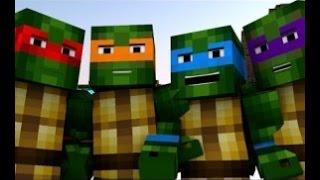 As Tartarugas Ninjas [Minecraft Animation] [PT/BR]