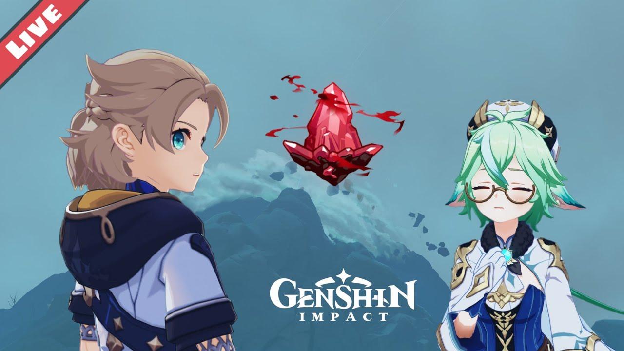 M G - The Crimson Agate chill stream - Genshin Impact