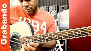 Grabando Guitarras (Bachata)