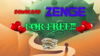 How to download ZENGE for Free! puzzle game for smart people!