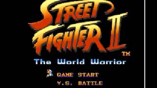 Guile's Theme [Street Fighter 2: The World Warrior][SNES]