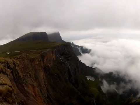 Hiking in the Drakensberg South Africa