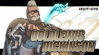 First Guilty Gear Strive DLC Character is Goldlewis Dickinson