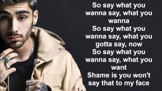 ZAYN - BeFoUr (Lyrics)