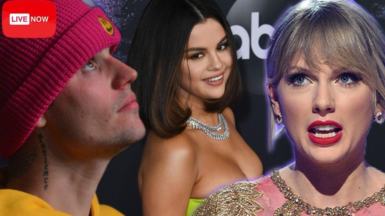 Justin & Hailey Bieber sip Selena Gomez's American Music Award's 2019 COMEBACK Performance!