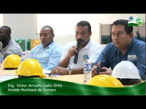 Visita Oficial de la Alcaldia Municipal de Tumaco a Esmeralda – Ecuador.