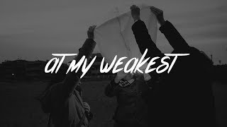James Arthur - At My Weakest (Lyrics)
