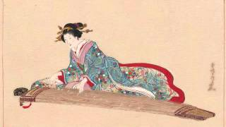 Yoshizawa Kengyo - Chidori no Kyoku (koto and singing)