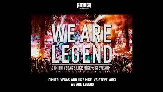 Dimitri Vegas & Like Mike vs Steve Aoki - We Are Legend (Original Mix) [Tomorrowland 2014 Version]