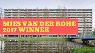 DEFLAT KLEIBURG in Amsterdam   NL  + XVW   Winner of Mies van der Rohe Award 2017