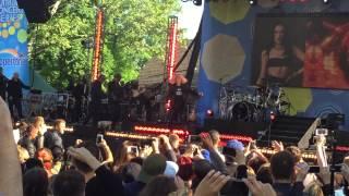 Jessie J Live (Burnin' Up) at GMA Summer Concert LIVE 22-5-15 (song1)