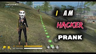 Funny Hacker  Prank in Garena Free Fire - Desi Gamers