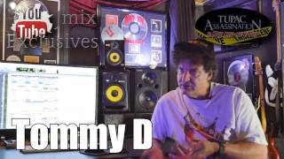 Tommy D On Tupac Doubling His Vocals & Recording Songs On Simple Beats