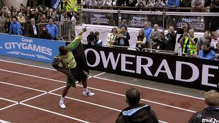 The Fastest Race in History - Usain Bolt's 150m at the 2009 Great CityGames Manchester