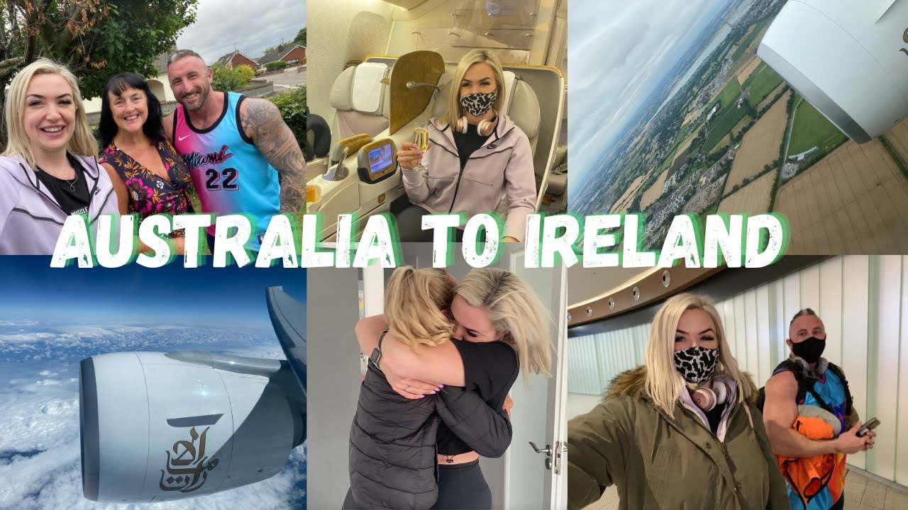 Traveling Home to Ireland from Australia | VLOG