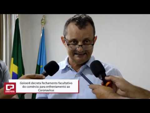 Governo Municipal decreta fechamento facultativo do comércio de Goioerê - Cidade Portal