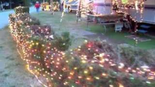 Christmas in July at Mackinaw Mill Creek Camping - YouTube