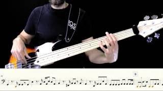 Uno su mille - Gianni Morandi - Bass cover with Score