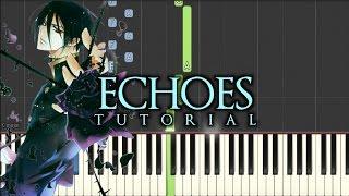 Emotional Piano Music - Echoes | Synthesia Tutorial