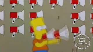 Bart Simpson desgraça