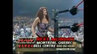 720pHD: WWE Raw 05.24.04: Victoria vs  Molly Holly with Gail Kim width=