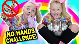 MAKING SLIME WITH NO ARMS!!!!