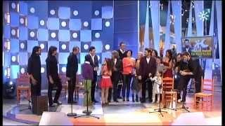 bulerias en directo miguel poveda canta y la Niña Triana jero baila....