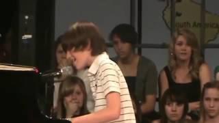 Дети исполняют песню парень 12 лет перепел САМУ Леди Гагу!