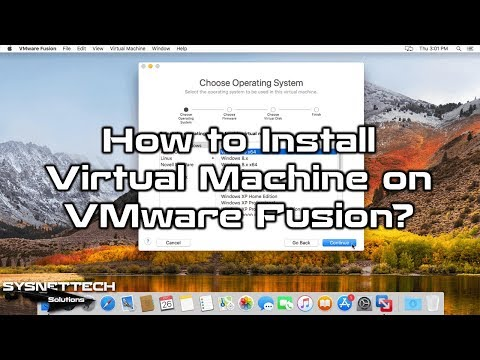 Windows 10 Installation Video with VMware Fusion