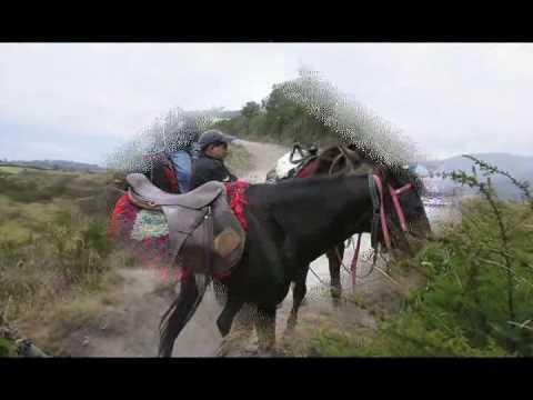 Ecuador: Horses, Cuicocha Crater Lake and the Equator